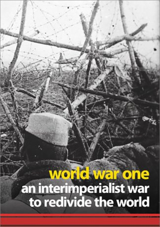 World War One: an InterImperialist War to Redivide the World pamphlet cover