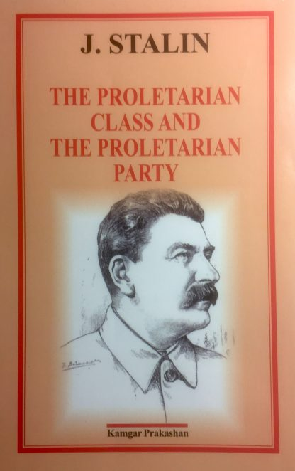 The proletarian class and the proletarian party
